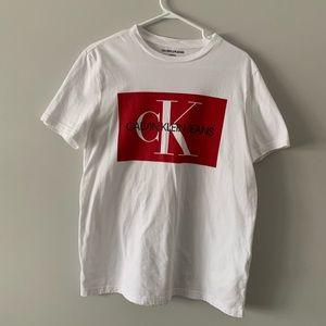 Calvin Klein Short Sleeve Monogram T-Shirt